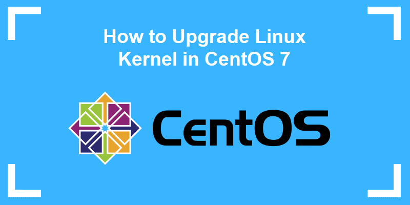 how to upgrade kernel in centos 7